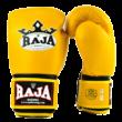 Raja bőr boxkesztyű sárga