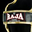 Raja bőr sípcsontvédő - fekete