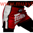 fairtex muaythai short, bs19704 piros-fehér