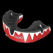 OPRO Platinum fogvédő - piros/fekete