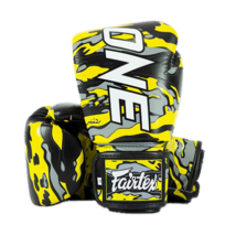 Fairtex bőr boxkesztyű - ONE X Mr.Sabotage by Fairtex