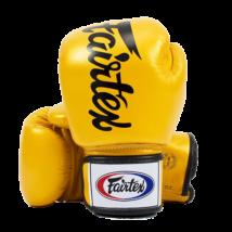 Fairtex deluxe bőr boxkesztyű BGV-19 - arany