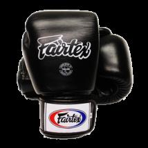 Fairtex bőr boxkesztyű BGV-1 - fekete