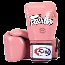 Fairtex bőr boxkesztyű BGV-1 - pink