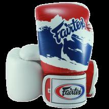 Fairtex bőr boxkesztyű BGV-1 - Thai mintás