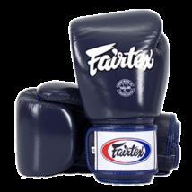 Fairtex bőr boxkesztyű BGV-1 - kék