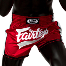 Fairtex thai-box nadrág BS1704 - piros