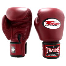 Twins bőr boxkesztyű BGVL-3 - bordó 10-16oz