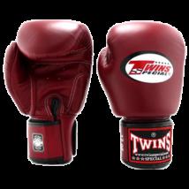 Twins bőr boxkesztyű BGVL-3 - bordó
