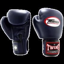 Twins bőr boxkesztyű BGVL-3 - sötétkék