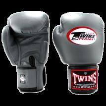 Twins bőr boxkesztyű BGVL-3 - szürke