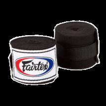 Fairtex bandázs HW2 - fekete (4,5m elasztikus)