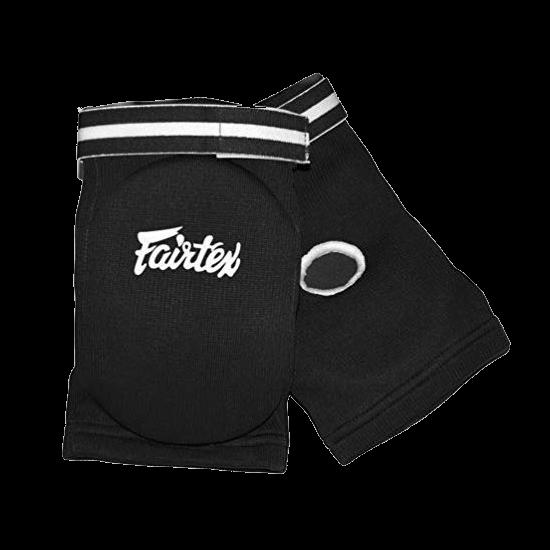 fairtex_könyökvédő_pamut_fekete
