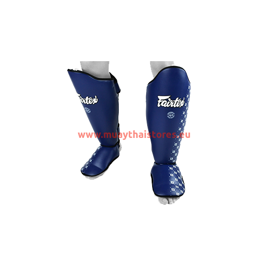 Fairtex SP5 sípcsontvédő, kék