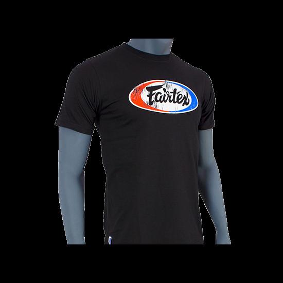 Fairtex TS4 fekete póló