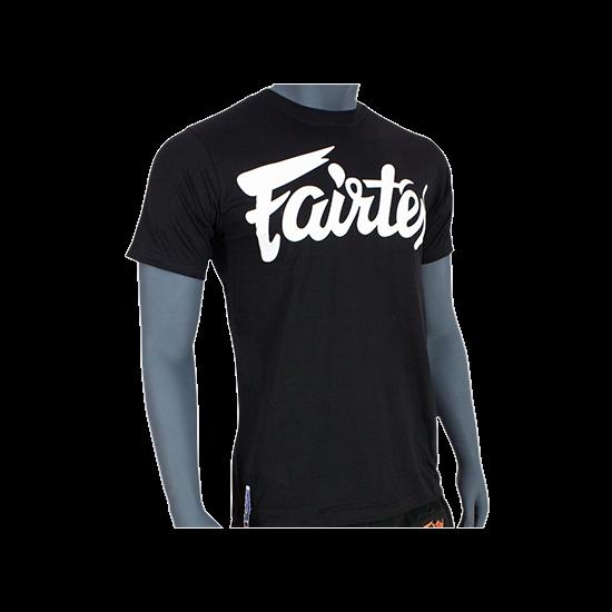 Fairtex 100% pamut póló fekete