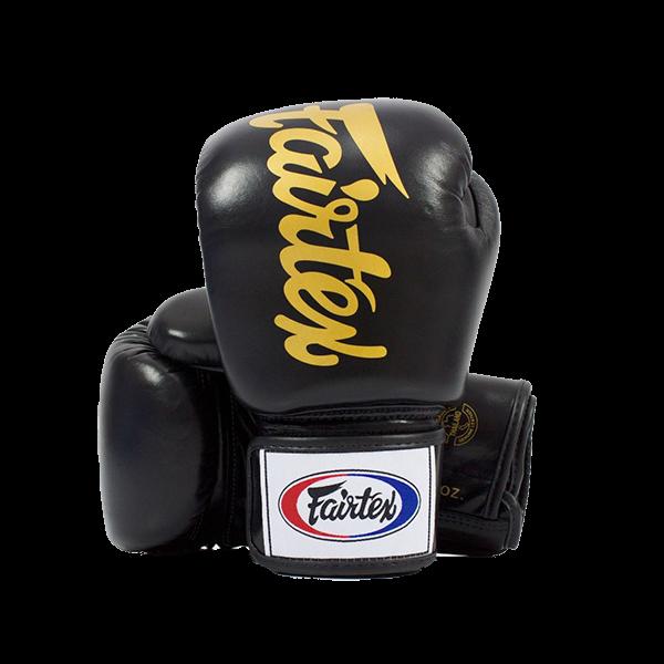 Fairtex deluxe bőr boxkesztyű BGV-19 - fekete