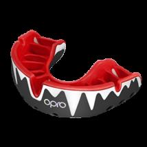 OPRO Platinum fogvédő - fekete/piros