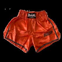 Raja thai-box nadrág - narancssárga