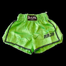 Raja thai-box nadrág - neonzöld
