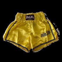 Raja thai-box nadrág - sárga