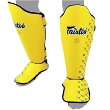 Fairtex SP5 sípcsontvédő, sárga